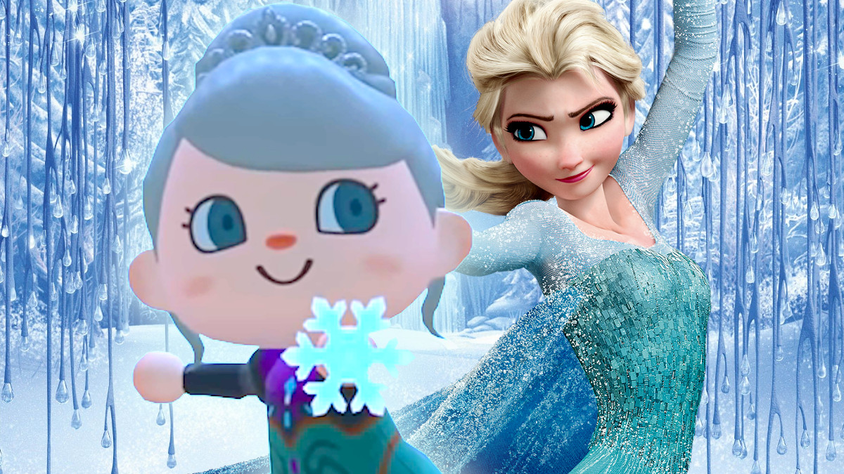 Animal Crossing Let it Go Frozen