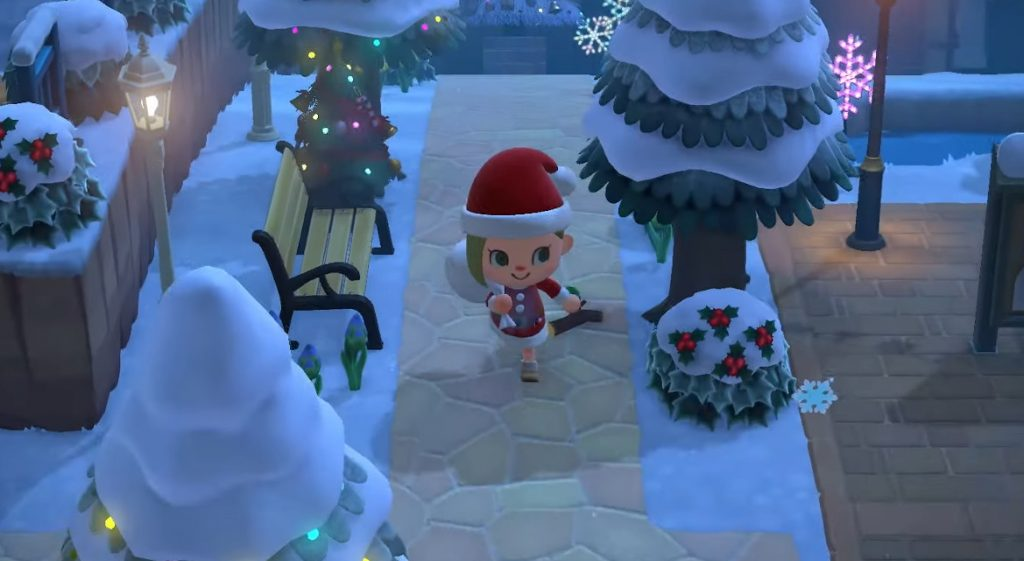 Papa Noel Actualizacion Invierno Animal Crossing New Horizons