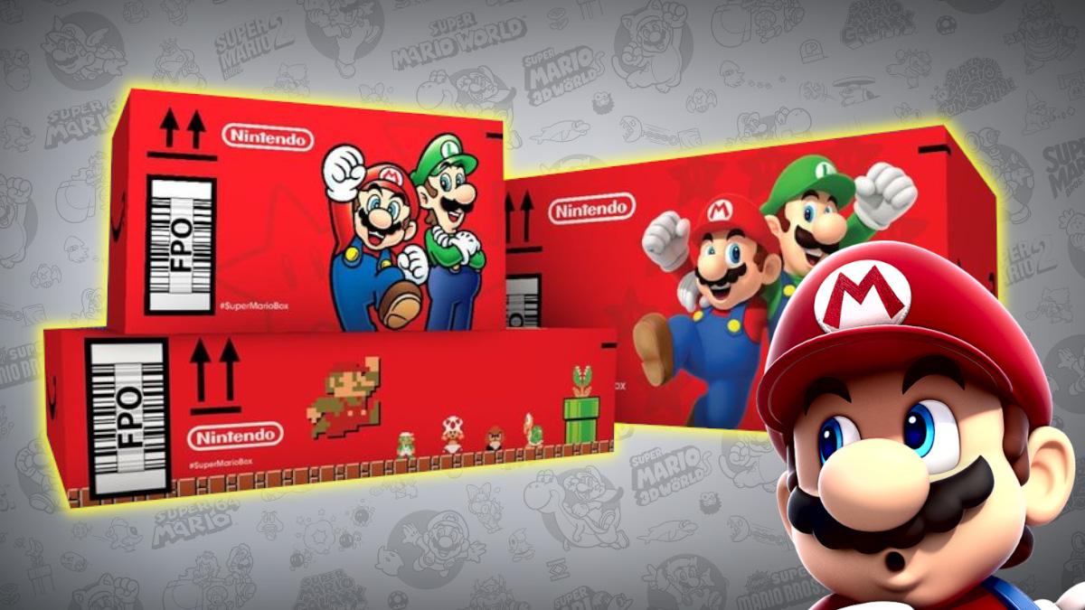 Cajas de Amazon Aniversario Super Mario 35