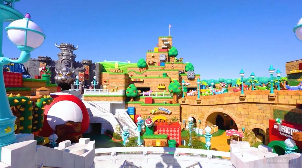 Atracciones Super Nintendo World