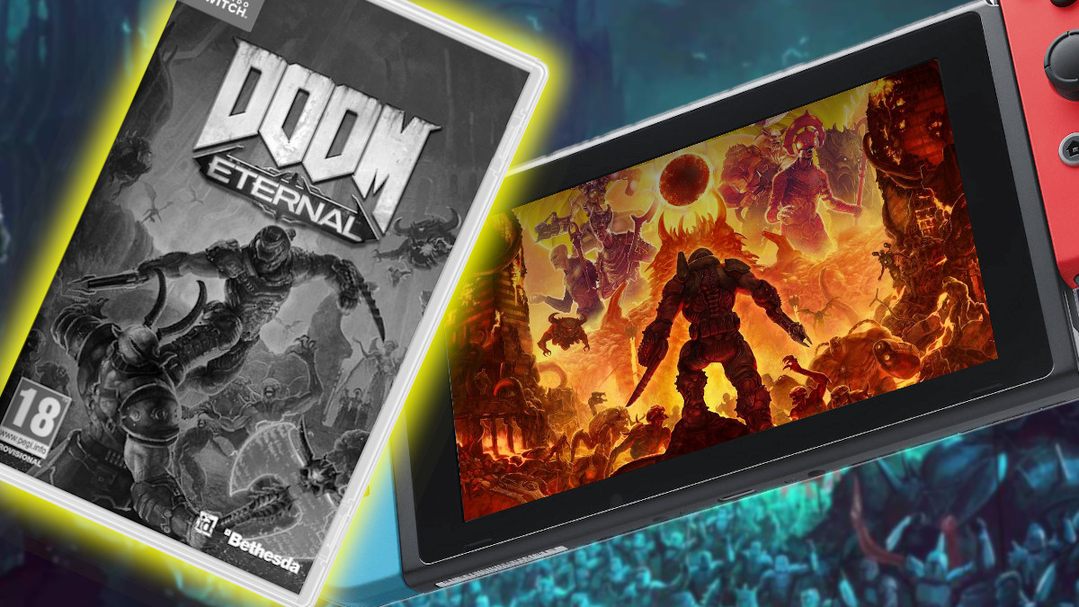 DOOM Eternal para Switch version fisica