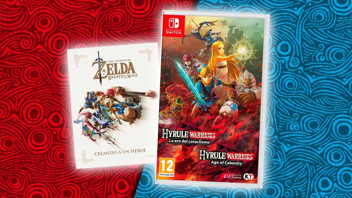 Sorteo Hyrule Warriors Para Nintendo Switch Libro De Arte
