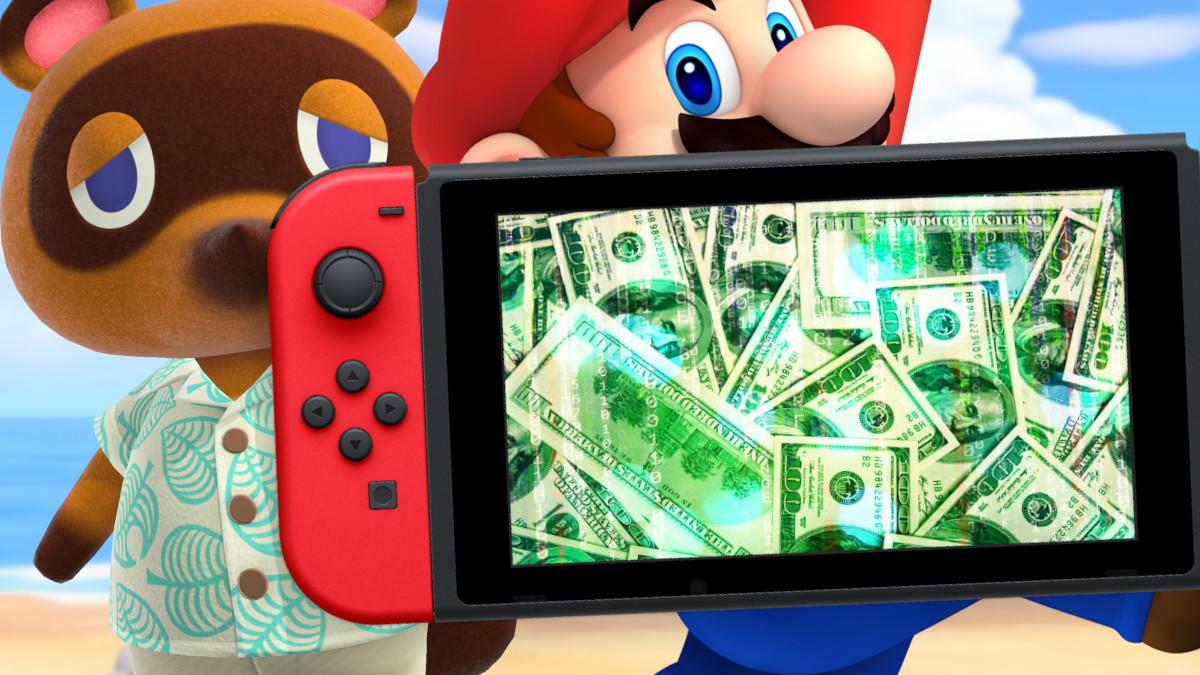 Ventas de Switch y juegos Noviembre 2020