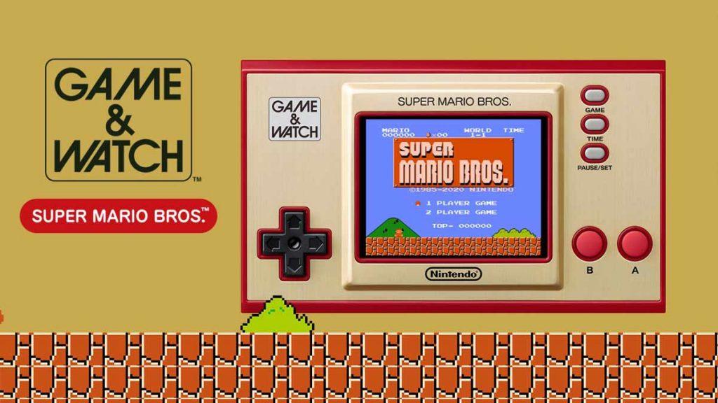 Game and watch de super mario