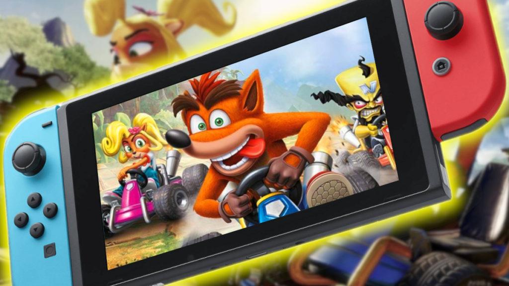 Crash Team Racing Gratis en Switch