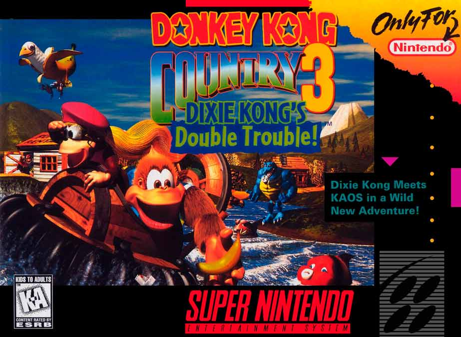 Donkey Kong Country 3 Nintendo Switch