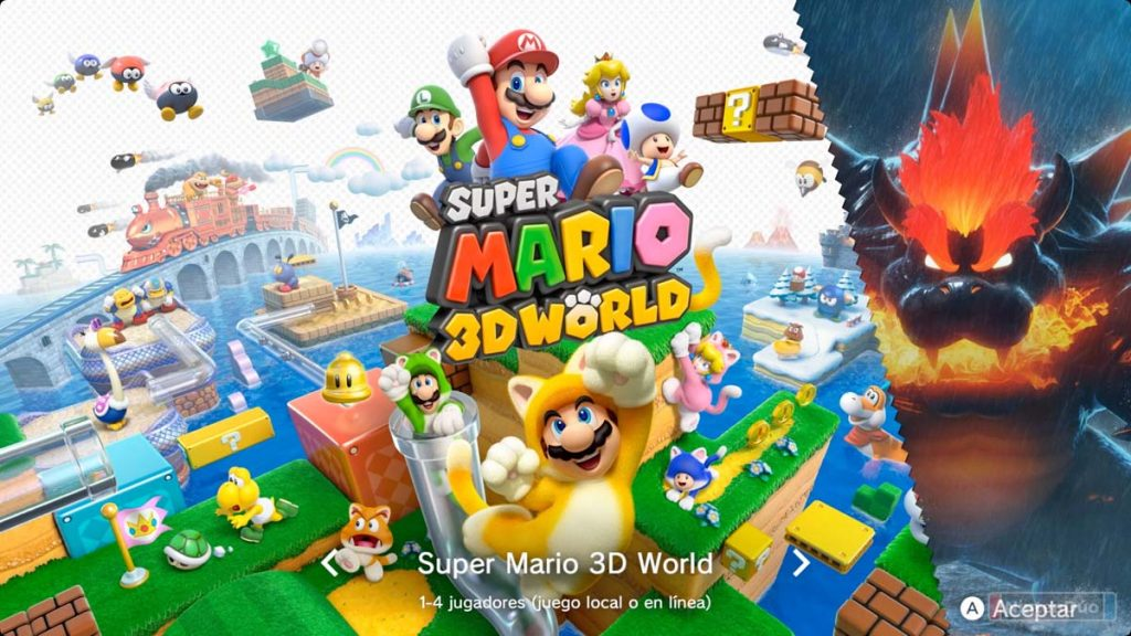 análisis super mario 3d world bowser's fury switch