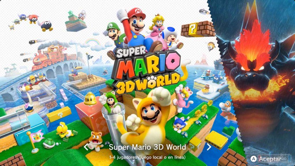 análisis super mario 3d world bowser's fury switch