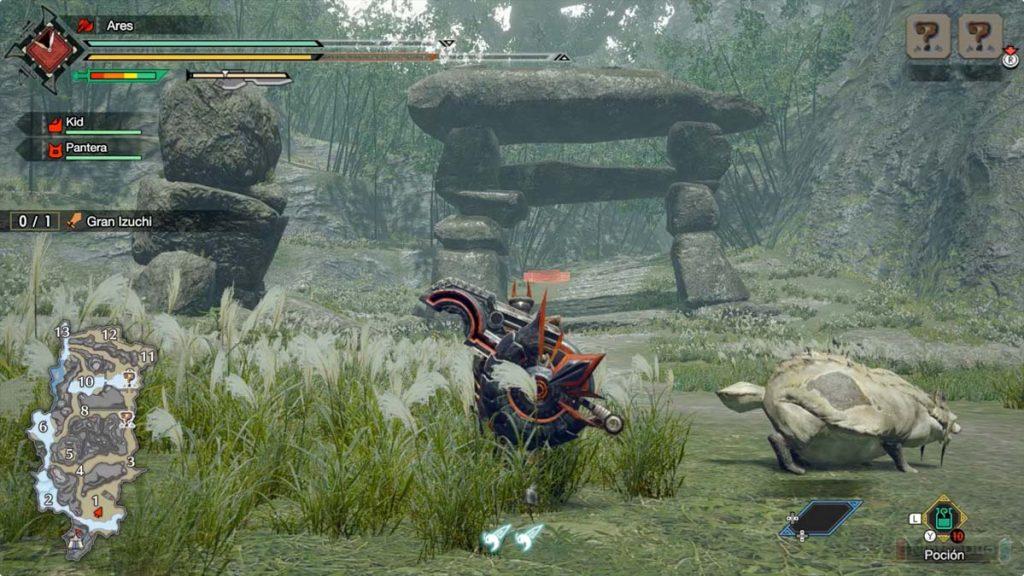 Demo de Monster Hunter Rise para Nintendo Switch