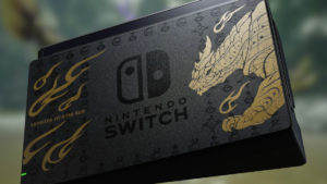 Switch Diseño Monster Hunter Rise