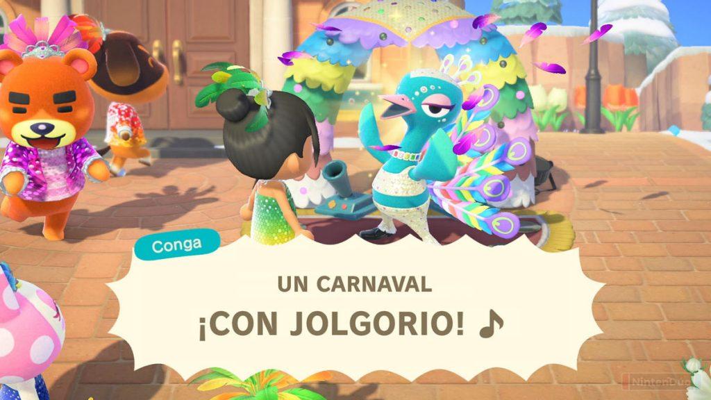 Actualización de enero de Animal Crossing New Horizons