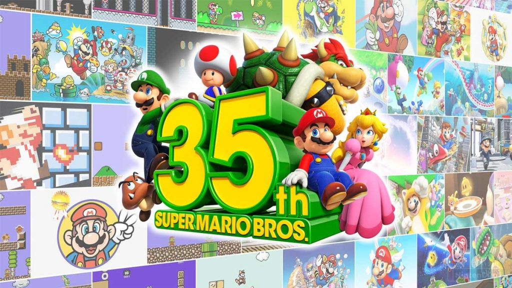 35 Aniversario de Super Mario