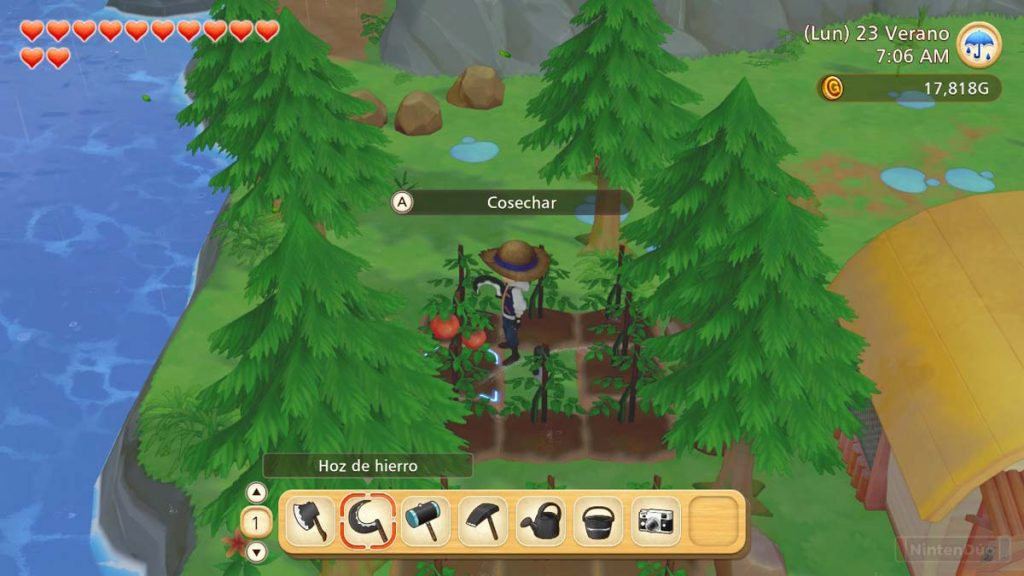 Análisis de story of seasons pioneers of the olive town