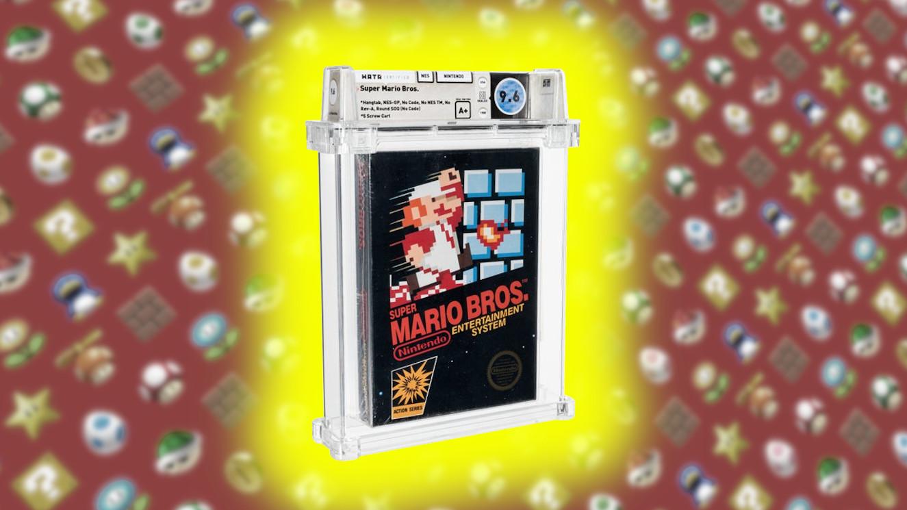 Subasta Mario Bros NES 300.000 dolares