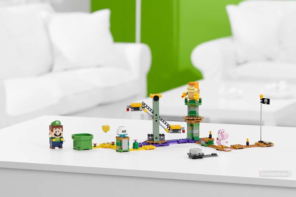 Lego Luigi Super Mario
