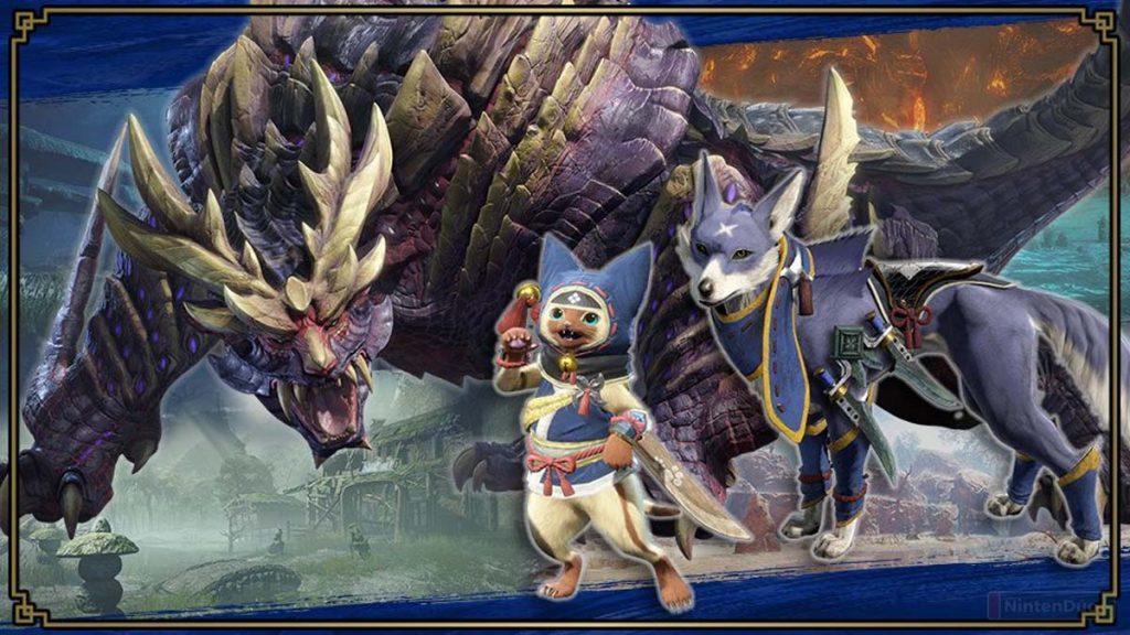 Espíritus de Monster Hunter en Smash Bros