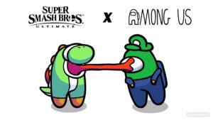 Among Us Smash Bros
