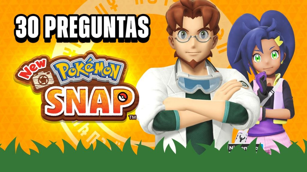 30 Preguntas New Pokémon Snap