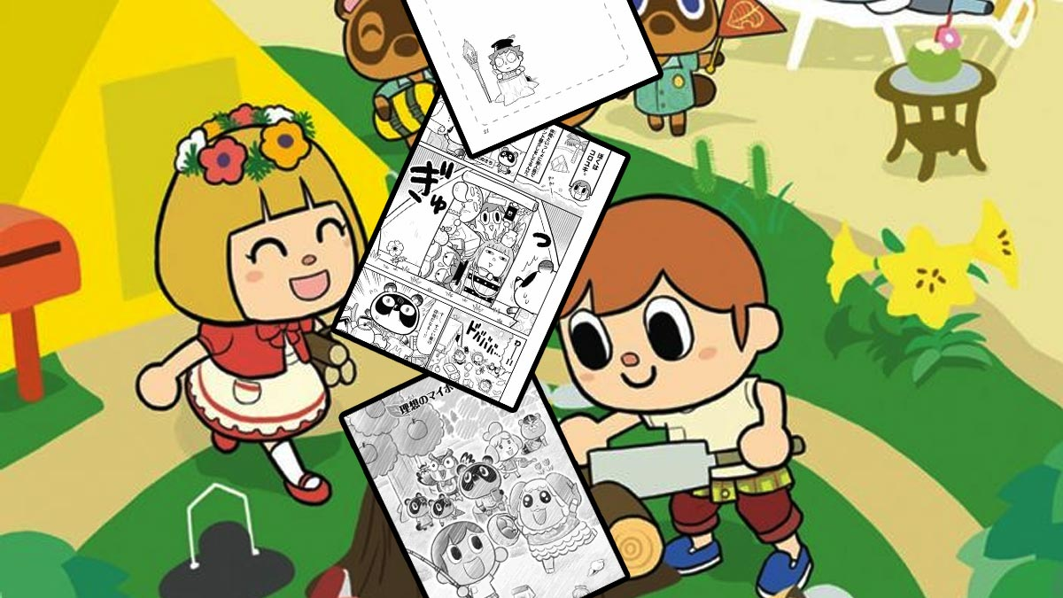 manga Animal Crossing