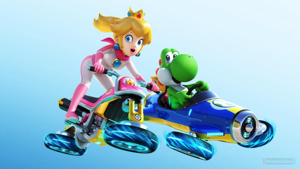 Mario Kart 8 Deluxe actualización