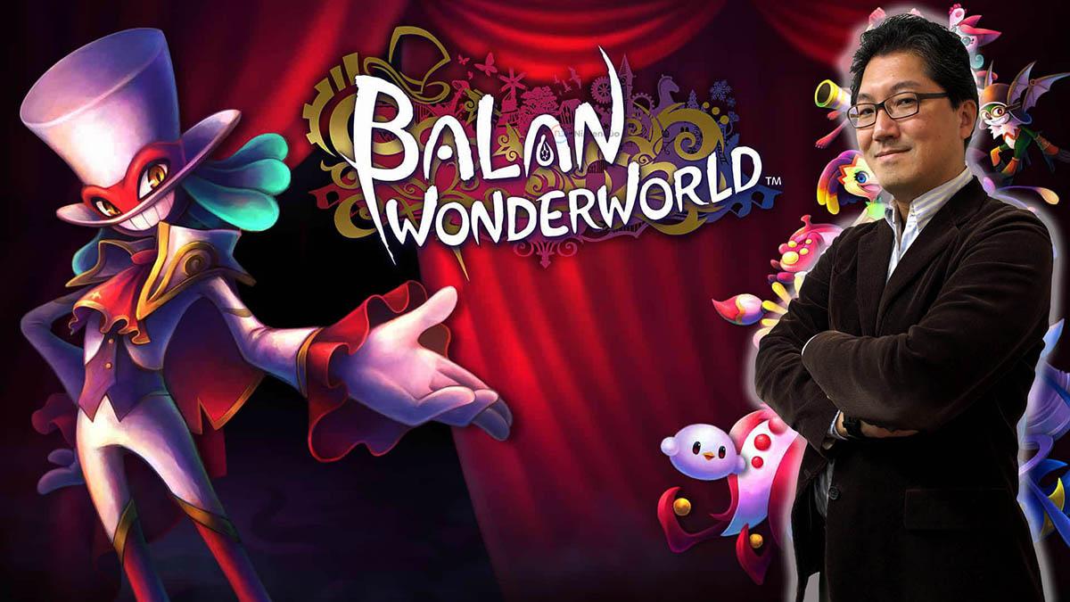 Balan Wonderworld Yuji Naka