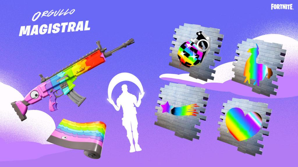 Orgullo Magistral en Fortnite